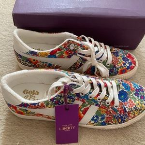 GOLA FOR J.CREW MARK COX SNEAKERS IN LIBERTY FLORA